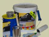 «Стэп пол» – комплект для полимерного покрытия пола (серый, RAL 7040)