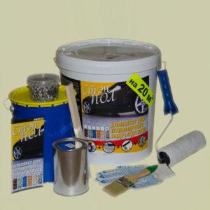 «Стэп пол» - комплект для полимерного покрытия пола