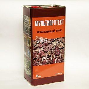 Фасадный лак МультиПротект-Л 5л.