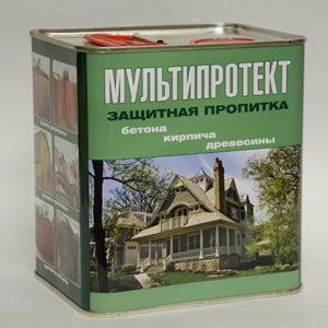 Защитная пропитка МультиПротект-П 2.4л.