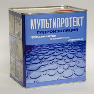 Гидроизоляционная пропитка МультиПротект-П 2.4л.
