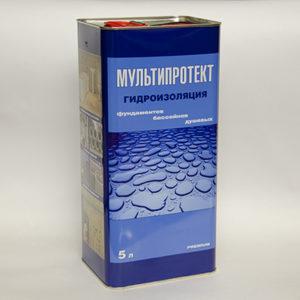 Гидроизоляционная пропитка МультиПротект-П 5л.