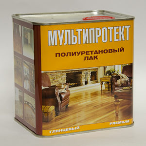 Полиуретановый лак МультиПротект-ПУ 2.4л.