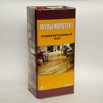 Полиуретановый лак МультиПротект-ПУ 5л.