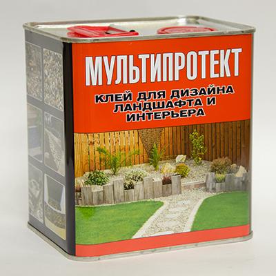 Полимерный клей МультиПротект-ПУ 2.4л.