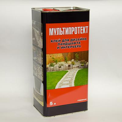 Полимерный клей МультиПротект-ПУ 5л.