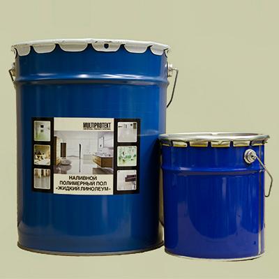 Полимерные наливные полы МультиПротект 20кг.