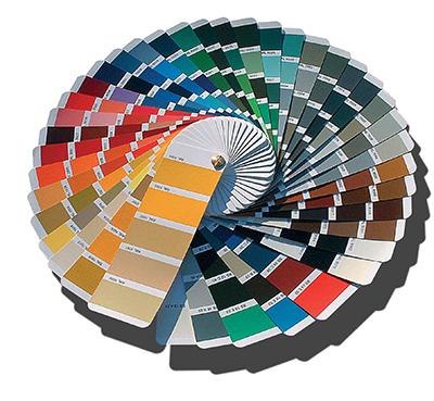 таблица цветов RAL Classic